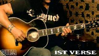 Slash Interview & Lesson