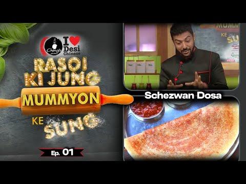 Karishma Tanna's Mom VS Ragini Khanna's Mom  Chings Challenge  Rasoi Ki Jung Mummyon Ke Sang