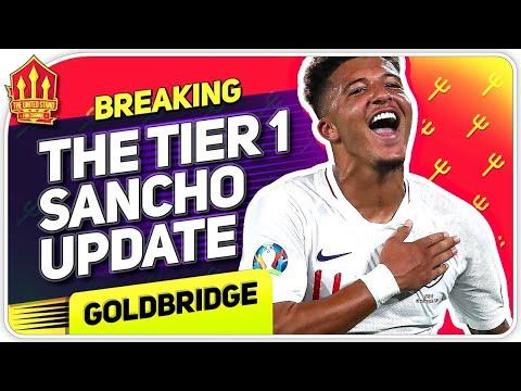 Romano! Sancho Still Wants United Move! Man Utd Transfer News