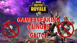 Fortnite GAMEBREAKING Clinger Glitch (en)
