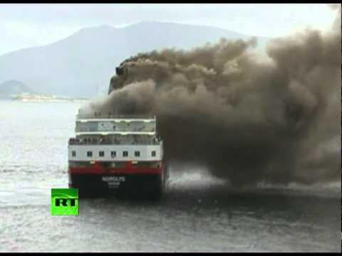 Dramatic Video Raging Fire Kills 2 On Norwegian Cruise