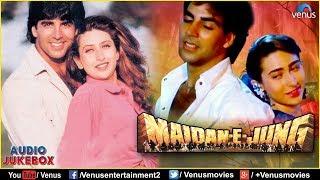 Maidan E Jung Bollywood Hindi Songs Akshay Kumar Krishma Kapoor JUKEBOX Romantic Hits