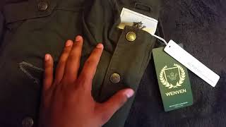 42nd unboxing video. WenVen green army jacket/ announcements.