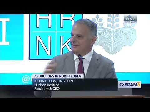 Abductions in North Korea Panel w Cindy Warmbier May 3 2019
