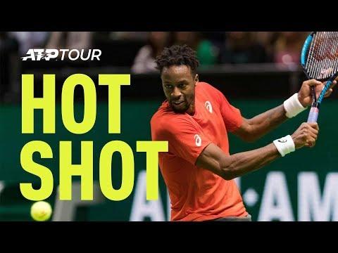 Hot Shot: Monfils' Delicate Winner At Rotterdam 2019