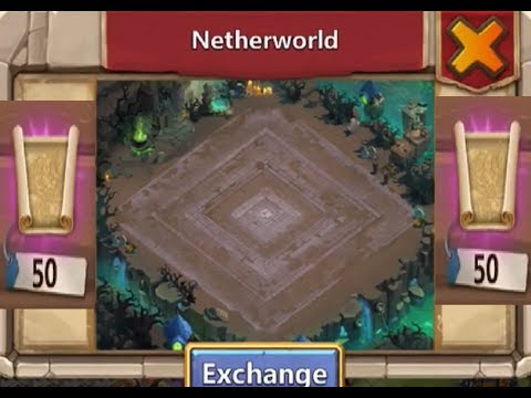 How To Get Netherworld BackGround + Clutch Lucky Number Castle Clash