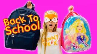 Покупаю КАНЦЕЛЯРИЮ с ЗАКРЫТЫМИ ГЛАЗАМИ / ШКОЛА Back to school 2019 / Ожидание реальность / НАША МАША