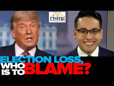 Saagar Enjeti: Here's The List Of EVERYONE To Blame For Trump's Likely Loss
