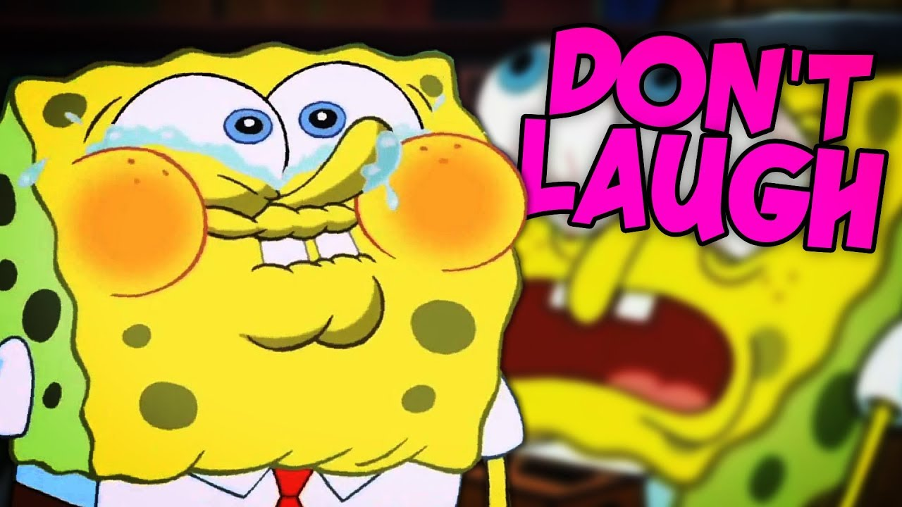Its Just Too Funny Try Not To Laugh Challenge Spongebob
