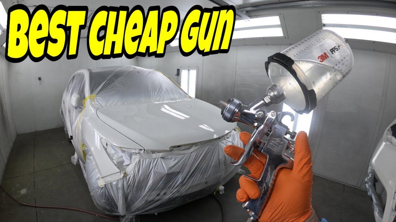 Best Cheap Paint Gun to Paint a Car!