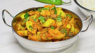 Жареные кабачки карри. Индийская кухня. Рецепт от Всегда Вкусно!