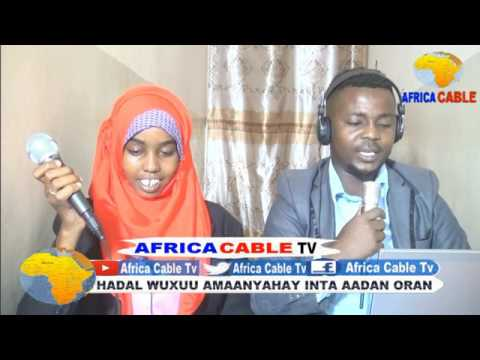 TARTAN AQOOONEEDKA WARBAAHINTA CITYFM IYO AFRICA CABLE TV 28 05 17 R 2