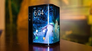 The First Foldable Phone Has Its Sights On Samsung