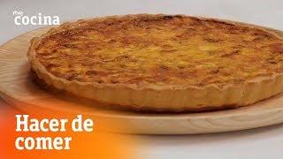 Cómo hacer Quiche de bacon - Hacer de comer   RTVE Cocina