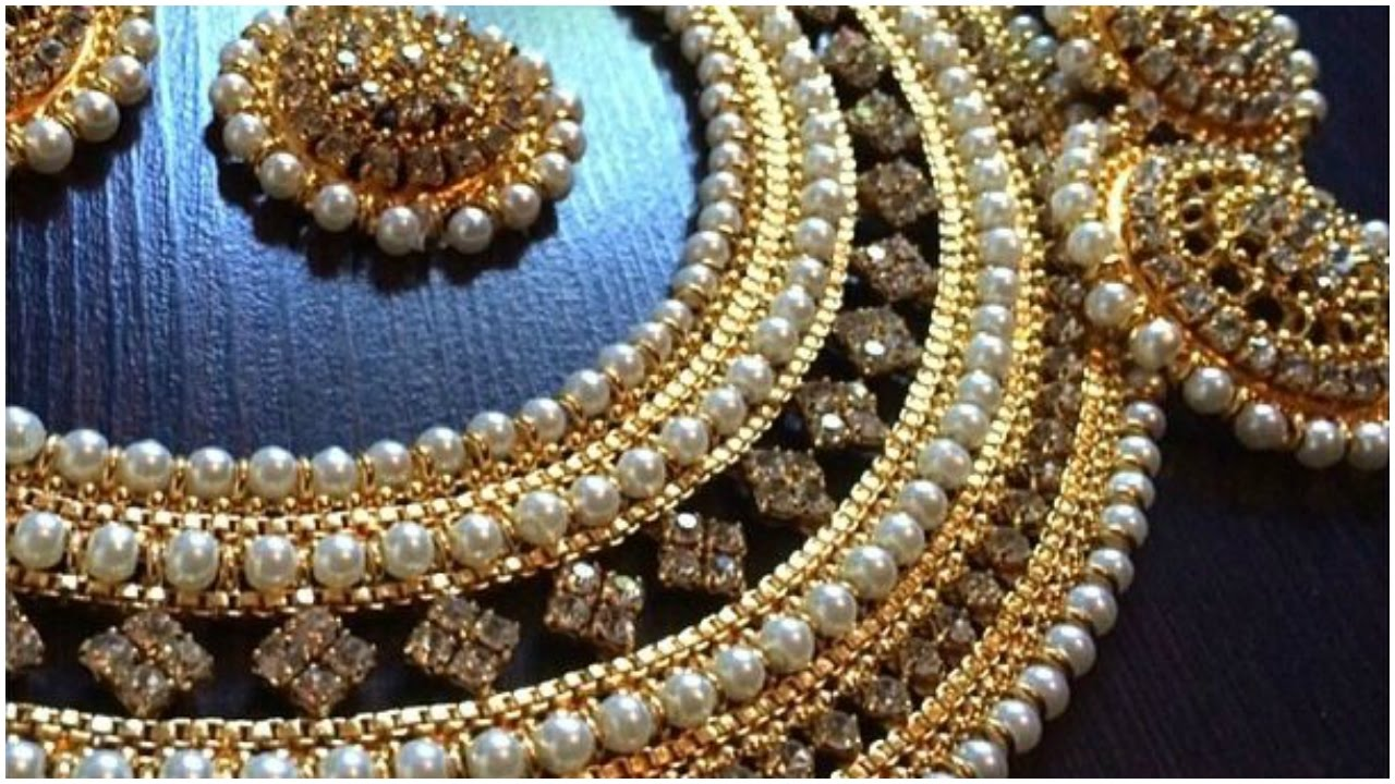 Latest North Indian Bridal Jewellery Sets Designs - YouTube