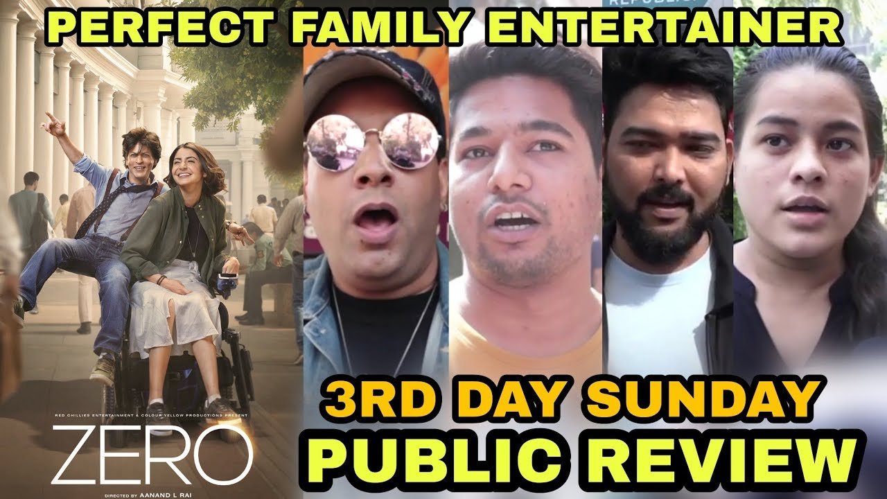 Zero Movie Public Review Video