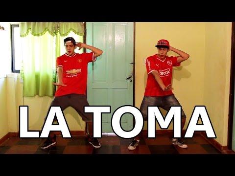 Jorge y Nacho bailando LA TOMA
