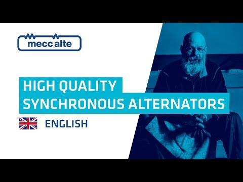 Mecc Alte Presentation Video: High quality synchronous alternators
