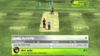 Brian Lara international Cricket 2007( PC Gameplay ) - India Vs West Indies Part - 1