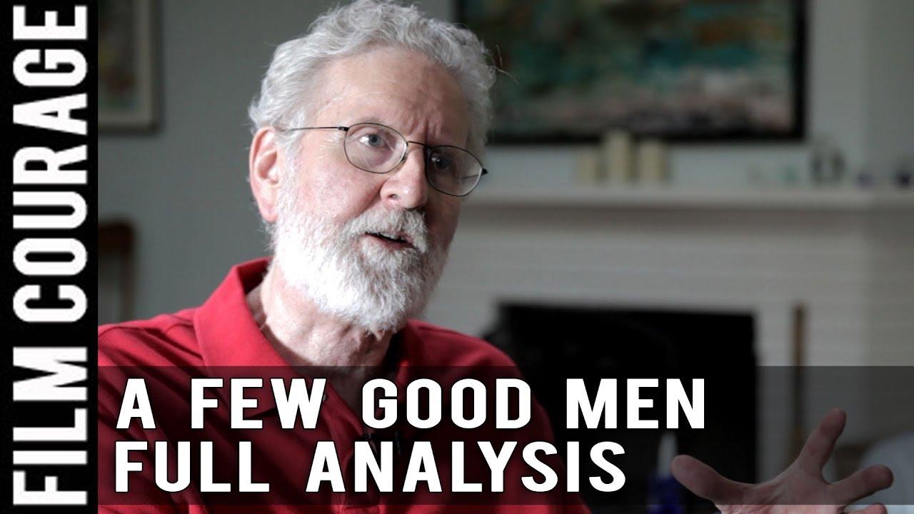 A few good men clip analysis