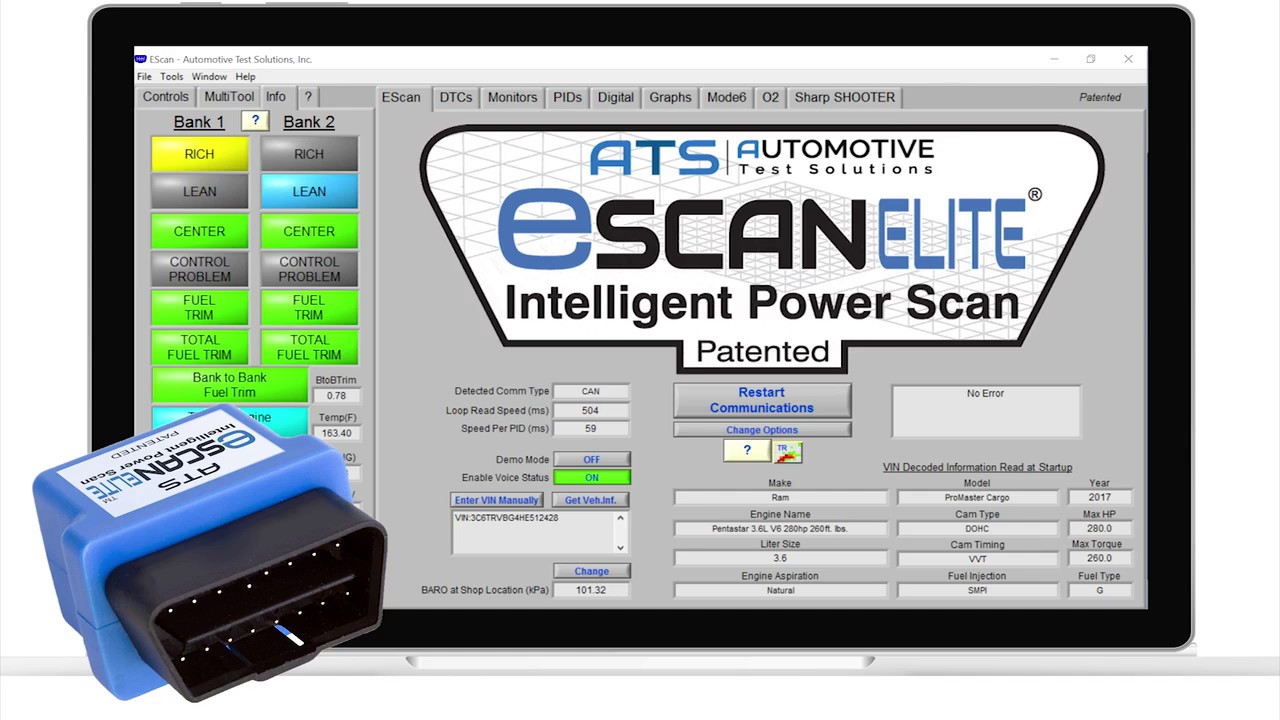 ats escan elite sm