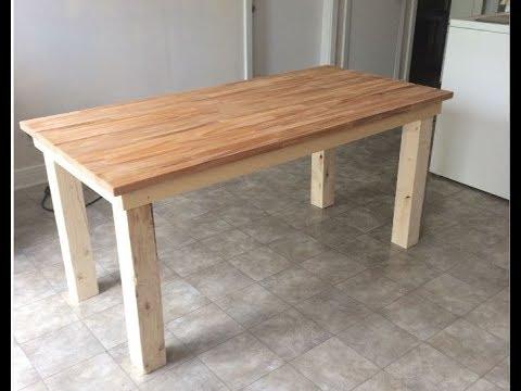 Kitchen table / Ikea Hack