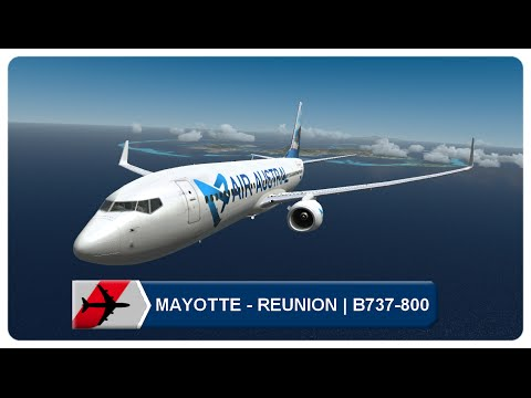 Flight Simulator X | Mayotte Dzaoudzi Pamandzi - La Réunion