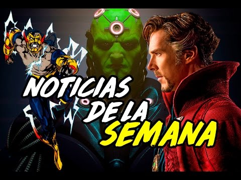 Homecoming, Doctor Strange, The Flash y más - Noticias de la semana