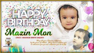 💓Birthday Song💓|Mazin Mon | #birthdaysong#| Singer Munavvir Maviladam|lyrics Rashada Binth Saquafi
