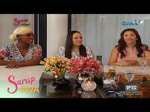 Sarap Diva: Lotlot and Matet De Leon share being with Ms. Nora Aunor
