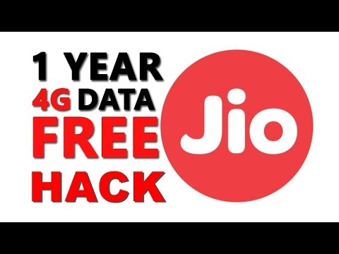 How To Hack Reliance Jio 4G || Unlimited 4G Data For 1 Year || 2017