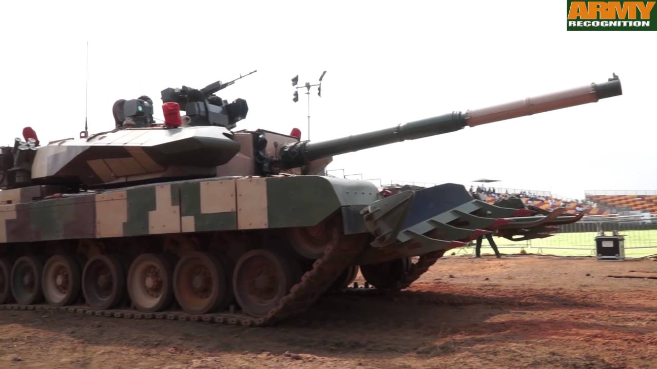 arjun mk 2 mbt main battle tank drdo india defence research development organisation review demo [ 1280 x 720 Pixel ]