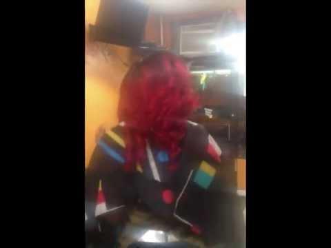 K Michelle Red Hair Rihanna/K Michelle Inspired Red Hair Installation Using Laree Hair ...
