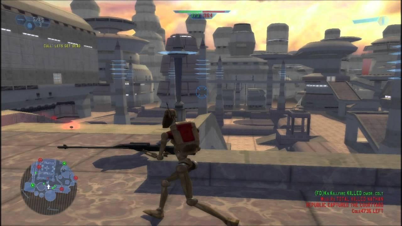 Star Wars Battlefront 1 Online Droid Game 1 Sniper