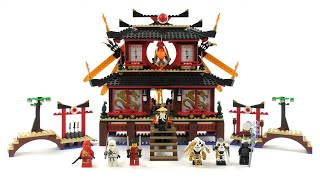 LEGO Ninjago Set 2507 - Ninja Feuertempel / Review deutsch