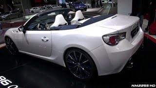 Toyota FT 86 Open Concept 2013 Videos
