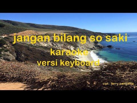 Jangan Bilang So Saki Karaoke Cover Versi Keyboard