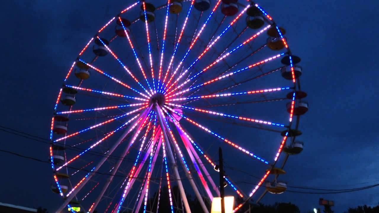 Orange County Fair 2015 Ferris Wheel - YouTube