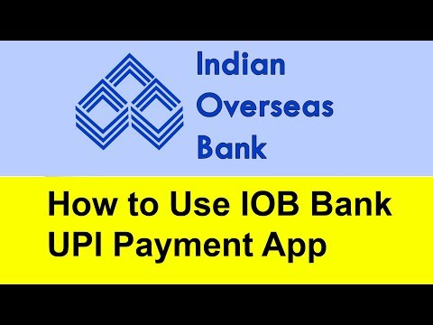 How to Use IOB Bank UPI Payment App | Tamil Banking
