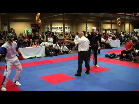 Kiraly v Europe Sport Karate Irish Open 2015