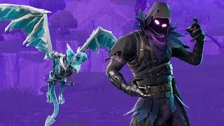 *New* Frostwing Glider + Raven Skin | Fortnite Battle Royale Gameplay