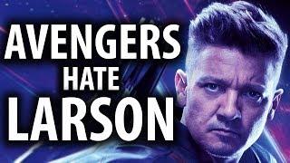 Avengers Endgame Cast Hates Brie Larson