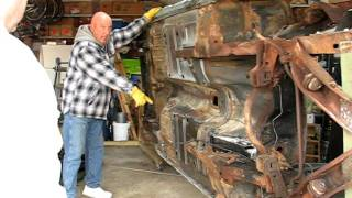 1968 Mustang Fastback Going On The Rotisserie