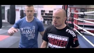 Mark O. Madsen - optakt til MMA-match den 23. maj 2014