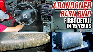 Cleaning The Dirtiest Car Interior Ever! Complete Disaster Full Interior Car Detailing Volkswagen