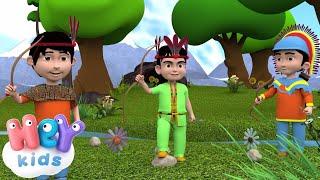 10 Индейцев - Считалочка для детей - Сборник Детских Песен