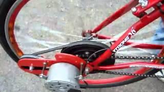 Bicicleta Eletrica 100% Nacional -Motor ventoinha palio -  Bike Electric - .flv