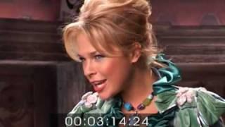"По мотивам съемки клипа Ани Ангел-А ""Блондинка"""