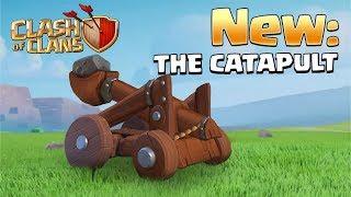 NEW CATAPULT- Clash of Clans, Level 3 Siege Workshop (UPDATE CONCEPT/IDEA)