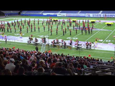 THS Marching Band State Show UIL 2017